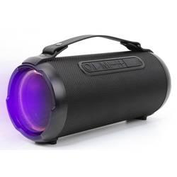 Bluetooth® reproduktor Denver BTG-408 odolná/ý striekajúcej vode, AUX, USB, SD, čierna