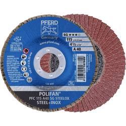 Vejárovitý brúsny kotúč PFERD PFC 115 A 40 PSF STEELOX 67744115, Ø 115 mm/