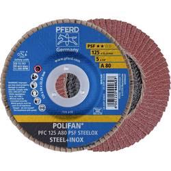 Vejárovitý brúsny kotúč PFERD PFC 125 A 80 PSF STEELOX 67748125, Ø 125 mm/