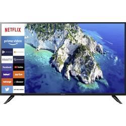 Dyon Movie Smart 49 XT LED TV 123.2 cm 49 palca DVB-T2, DVB-C, DVB-S, UHD, Smart TV, WLAN, CI+ čierna