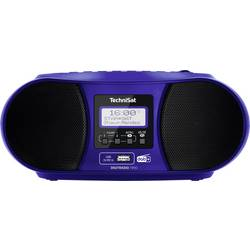 N/A TechniSat DIGITRADIO 1990, AUX, Bluetooth, CD, DAB+, UKW, USB, modrá