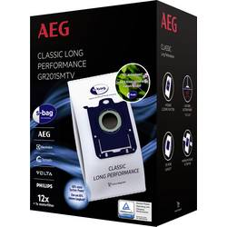 Sáčky do vysávača AEG AEG GR201SMTV s-bag VX4 8 1 ks