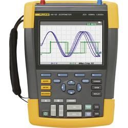 Ručný osciloskop Fluke FLUKE-190-062-III, 60 MHz, 2-kanálová, Kalibrované podľa (DAkkS)