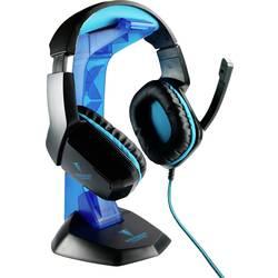 Berserker Gaming AVRAK herný headset jack 3,5 mm káblový, stereo cez uši čierna, modrá