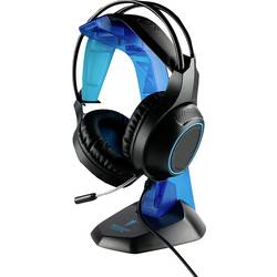 Berserker Gaming FRODI herný headset 2x 3,5 mm jack (mic./slu.), s USB káblový, stereo cez uši čierna, modrá