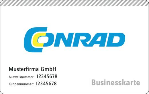 Conrad Businesskarte DE kostenlos