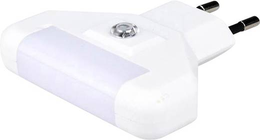 Nachtlicht LED Kalt-Weiß Alecto ANV-17 ANV-17 Weiß