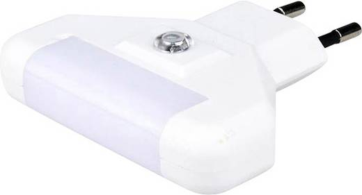Nachtlicht LED Kalt-Weiß Alecto ANV-17 Weiß