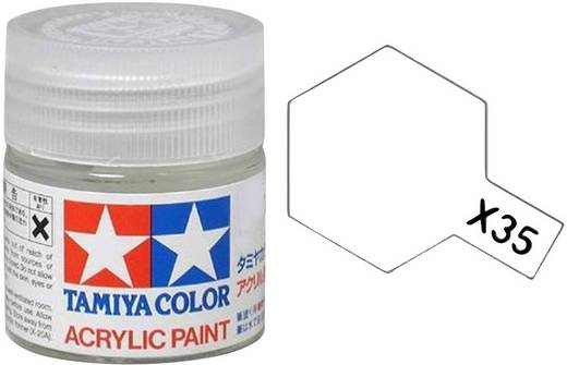Tamiya Acrylfarbe Klar, Seidenmatt (klar) glänzend Glasbehälter 10 ml