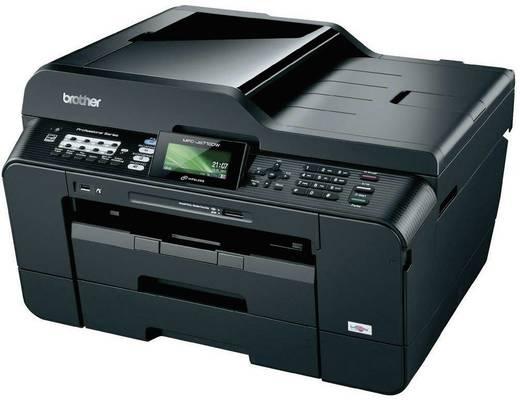 Brother MFC-J470DW Tintenstrahl-Multifunktionsdrucker A4 Drucker, Scanner, Kopierer, Fax LAN, WLAN, Duplex, ADF