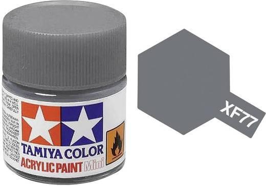 Tamiya Acrylfarbe Grau Sasebo Arsenal Farbcode: XF-77 Glasbehälter 10 ml