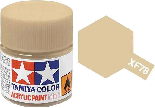 Tamiya Acrylfarbe Wooden Deck, Matt Farbcode: XF-78 Glasbehälter 10 ml