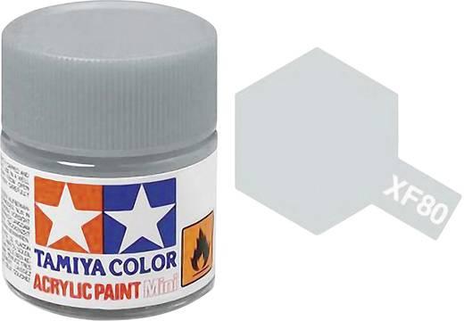 Tamiya Acrylfarbe British Navy Grau XF-80 Glasbehälter 10 ml