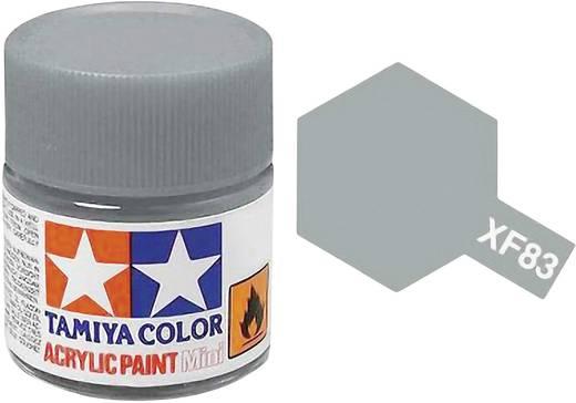 Tamiya Acrylfarbe See-Grau 2 mittel RAF Farbcode: XF-83 Glasbehälter 10 ml