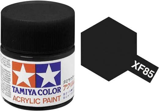 Tamiya Acrylfarbe Gummischwarz Farbcode: XF-85 Glasbehälter 10 ml