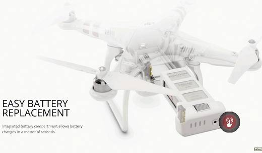 DJI Phantom 2 RTF Quadrocopter mit 2.4GHz Fernsteuerung