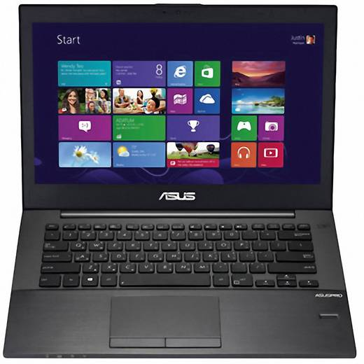 ASUS BU401LG Asus 35.6 cm (14 Zoll) Intel® Core™ 8192 MB Nvidia GeForce GT730M Windows® 7 Professional 64-Bit Anthraz