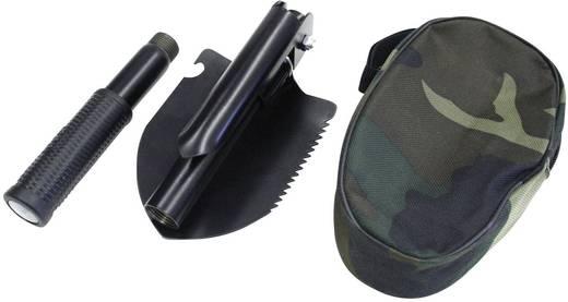Klappspaten mit Harke, mit Sägekante, mit Tasche 95841 Folding shovel