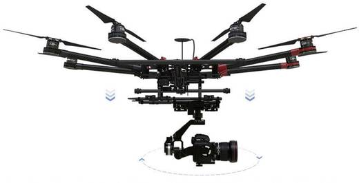 DJI S1000+ PLUS Octocopter Bausatz A2 & Z15 5D Mark III SET Einzelstück!