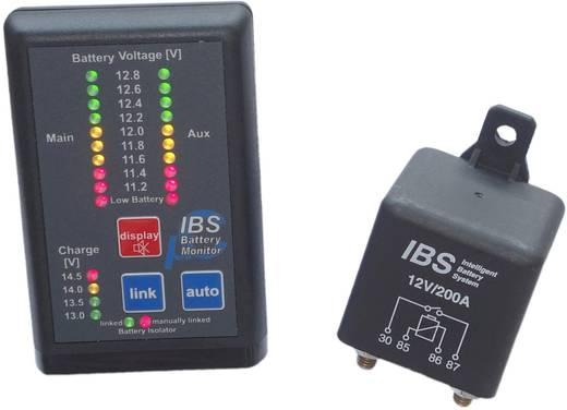 Batteriewächter Entladungsschutz, Überladungsschutz 12 V IBS IBS-DBS/12V-EM