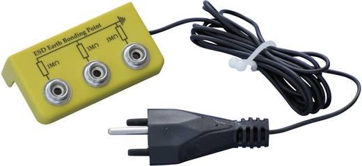 ESD Erdanschlusswinkel mit T12-Stecker und 3 Anschlüssen