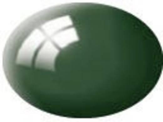 Revell 36162 Aqua-Farbe Moos-Grün (Glänzend) Farbcode: 36162 RAL-Farbcode: 6005 Dose 18 ml