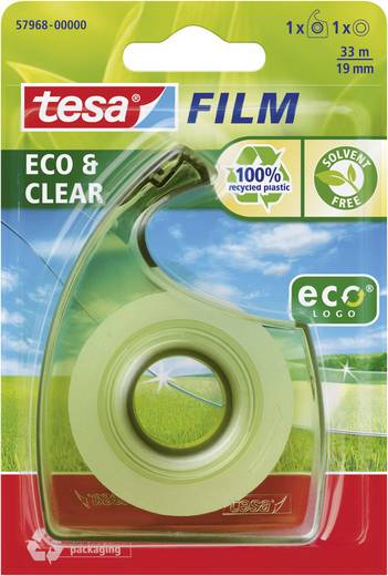 tesafilm tesa Easy Cut ecoLogo® (L x B) 33 m x 19 mm tesa 1 Set