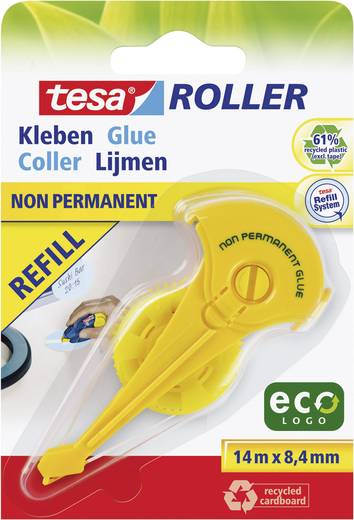 tesa® Roller ecoLogo Kleben non-permanent Nachfüllpack TESA