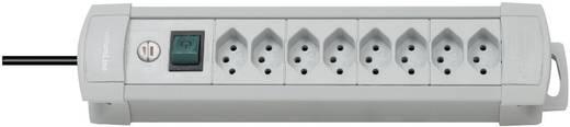 Premium Line Steckdosenleiste 8fach Grau mit Schalter