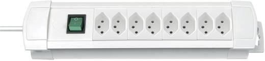 Premium Line Steckdosenleiste 8fach Weiss mit Schalter
