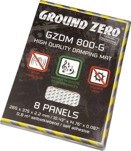 Ground Zero GZDM 800-GOLD