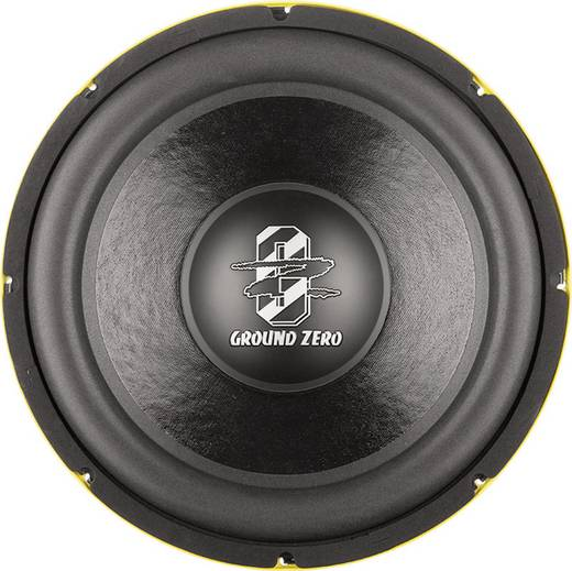 Ground Zero GZRW 38SPL Auto-Subwoofer-Chassis 380 mm 1500 W 4 Ω