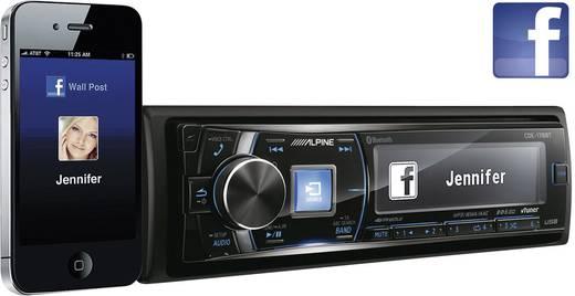 Autoradio Alpine Car Audio CDE-178BT Anschluss für Lenkradfernbedienung