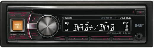 Alpine Car Audio CDE-136BT Autoradio Anschluss für Lenkradfernbedienung, DAB+ Tuner