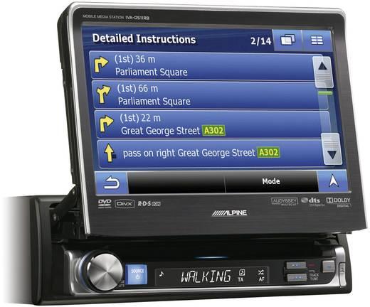 Alpine Car Audio IVA-D511RB Moniceiver Anschluss für Lenkradfernbedienung, Anschluss für Rückfahrkamera
