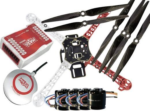 DJI F450 PRO KIT inkl. DJI NAZA-M & GPS Modul & MC2212er Motoren & Carbon Props SET 3