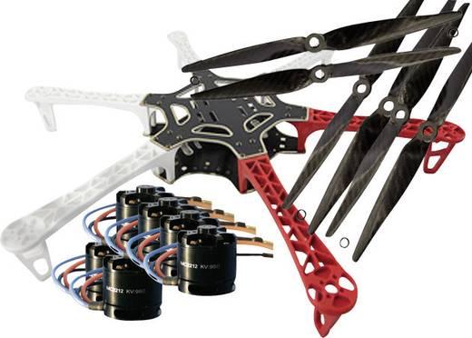 F550 PRO KIT & MC2212er Motoren & DJI 18Amp. Regler & Carbon Propeller Hexacopter