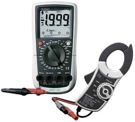 VOLTCRAFT VC250 + VC510 Hand-Multimeter, Stromzangen-Adapter digital CAT III 600 V Anzeige (Counts): 4000
