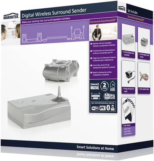 Klemmanschluss-Funkübertragung (Set) Marmitek Surround Anywhere 220 30 m 5.8 GHz eingebauter Verstärker