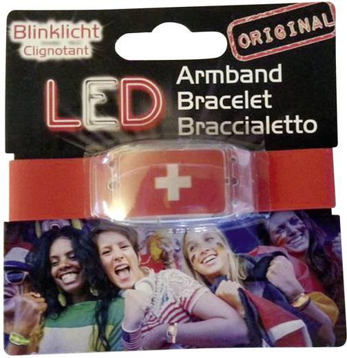 LED Fanarmband - Schweiz