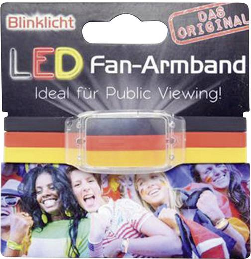 LED Fanarmband - Deutschland