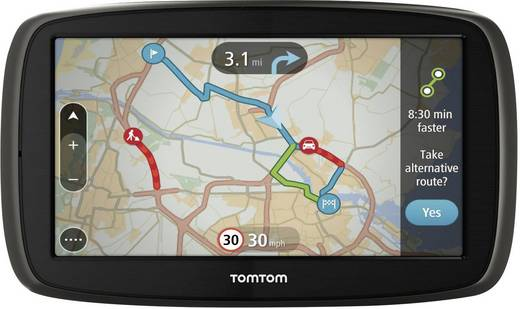 TomTom Start 25 M EU 22 Free LTM Navi 13 cm 5 Zoll Westeuropa