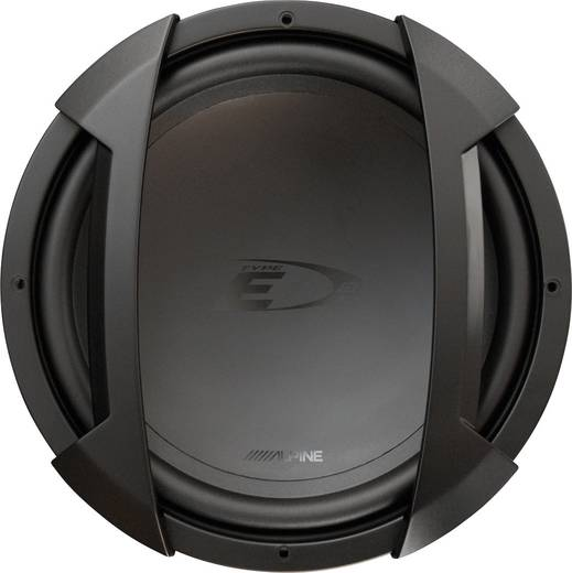 Auto-Subwoofer-Chassis 650 W Alpine Car Audio SWE-1244E 4 Ω
