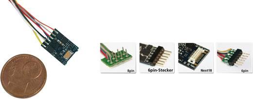 ESU 54687 LokPilot micro V4.0, MM/DCC/SX, 6-pol. NEM 651 mit Kabel