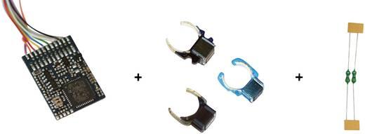 ESU 64630 LokPilot Digitalset 1, LokPilot V4.0 M4 64610 (MM/DCC/SX/M4), Feldmagnet 51960, Entstördrosseln
