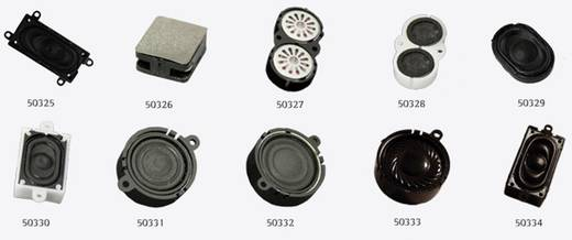 ESU 50327 Zwei Lautsprecher 16mm, oval, 8 Ohm, 1~2W, mit gemeinsamer Schallkapsel