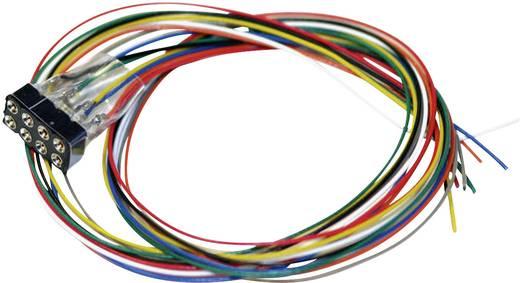 ESU 51950 Kabelsatz mit 8-poliger Buchse nach NEM 652, DCC Kabelfarben, 300mm Länge