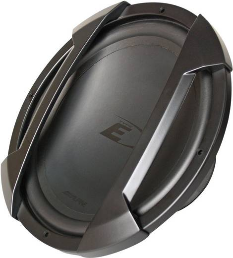 Auto-Subwoofer-Chassis 500 W Alpine Car Audio SWE-1044E 4 Ω