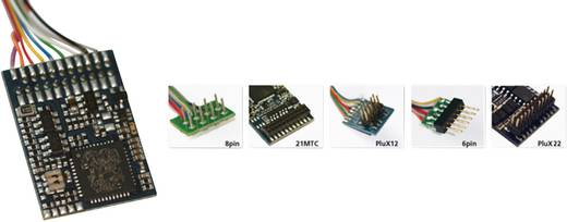 ESU 64610 LokPilot V4.0 M4, Multiprotokoll MM/DCC/SX/M4, 8-pol. Stecker NEM652, Kabelbaum
