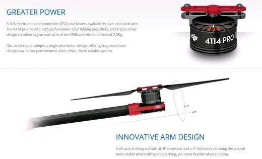 DJI S900 + A2 Flugsteuerung + Z15 Gimbal für Sony NEX SET Hexacopter Bausatz